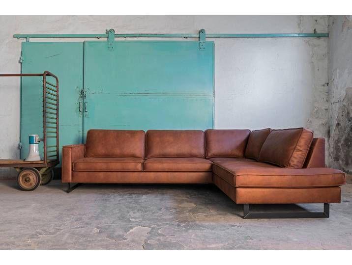 Places Of Style Eckcouch »Pinto«, braun, Inkl. Rückenkissen, FSC®-zert
