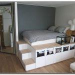 Plattform Lagerung Bett Voll - interior design ideas