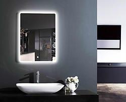 Prague Lighted LED Bathroom Vanity Mirror