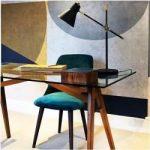 Primrose Esszimmerstuhl, Samt Gepolstert, Schwarz Stuhl Bein Stil: Walnussbeine Cult FurnitureCult F