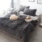 Pure Color Mink Velvet Bedding Sets wool Fleece