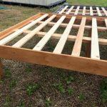 Queen Size Holz Paletten Bett Frames #recyceltepaletten Queen Size Holz Paletten...