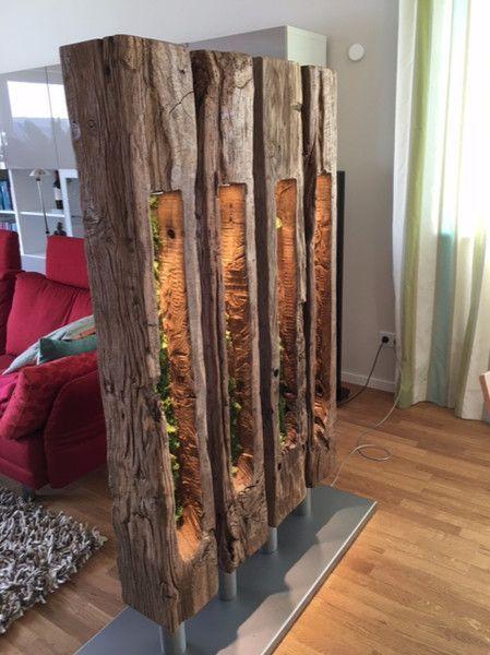 """Raumteiler – Raumteiler """"nature"""" – ein Designerstück von Wencke-Burzlaff bei Da… – bingefashion.com/interior"""