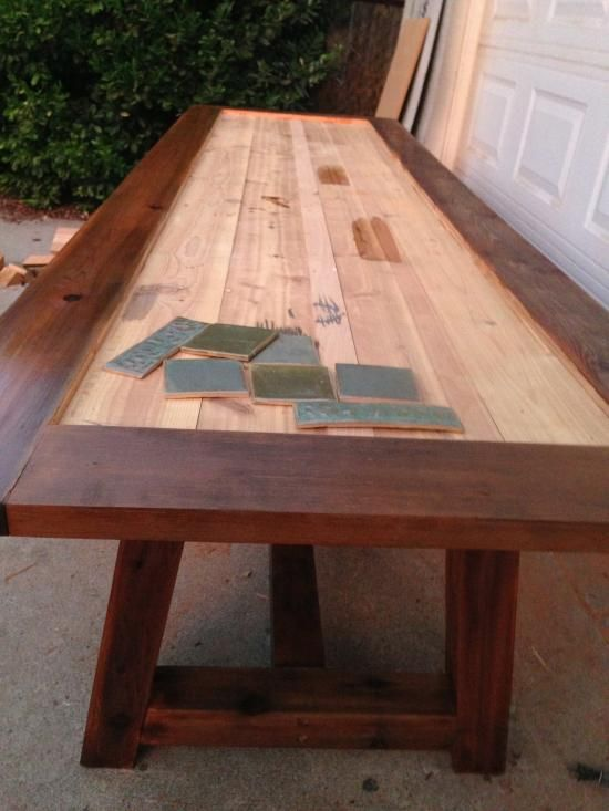 Reader Showcase: Tile Top Provence Dining Table – The Design Confidential