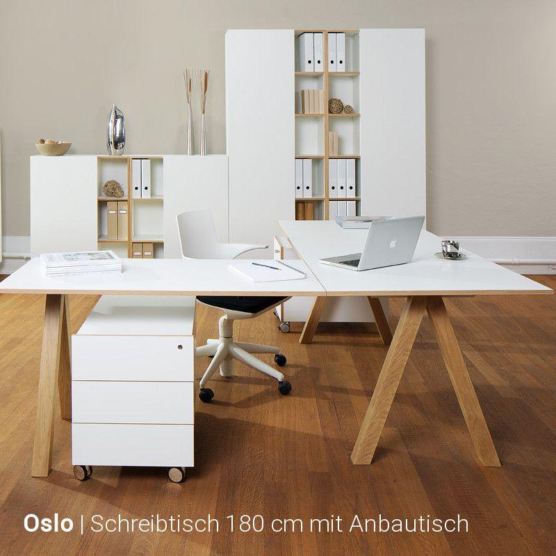 Reinhard – Oslo Eckschreibtisch Kombination