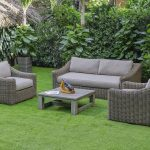 Renava Sapelo Outdoor Beige Korbsofa-Set   - Products - #beige #KorbsofaSet #Out...