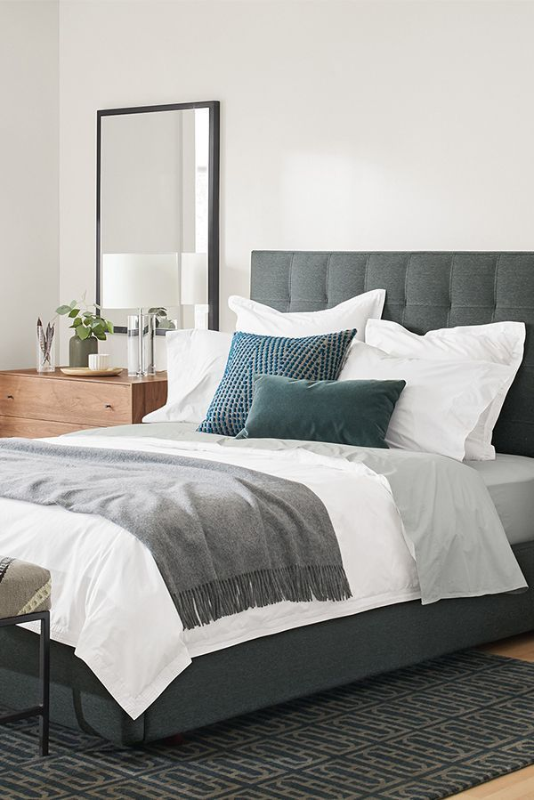 Room & Board –  Avery Upholstered Bed – Modern & Contemporary Beds – Modern Bedroom Furniture