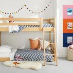 Room & Board -  Waverly Kids' Mini Wood Bunk Bed - Modern Bunk Beds & Loft Beds - Modern Kids Furniture
