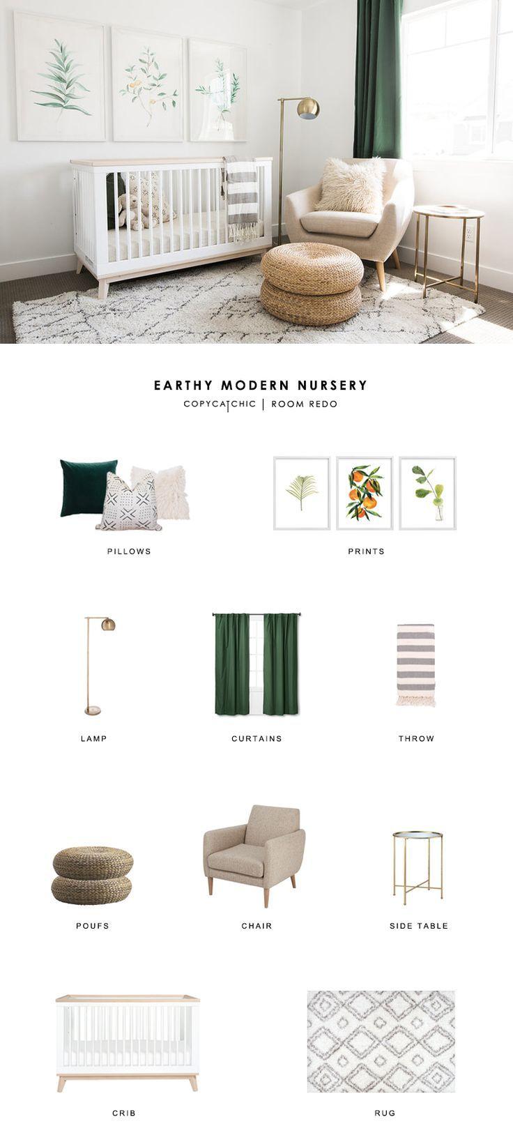 Room Redo   Earthy Modern Nursery – copycatchic