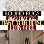 Round Rugs Ideas That Will Make Your House Look Good ! #interiordesign #rugs #ho...