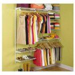 Rubbermaid Configurations Closet Organizer 3'-6' Deluxe Kit - White | 3H88