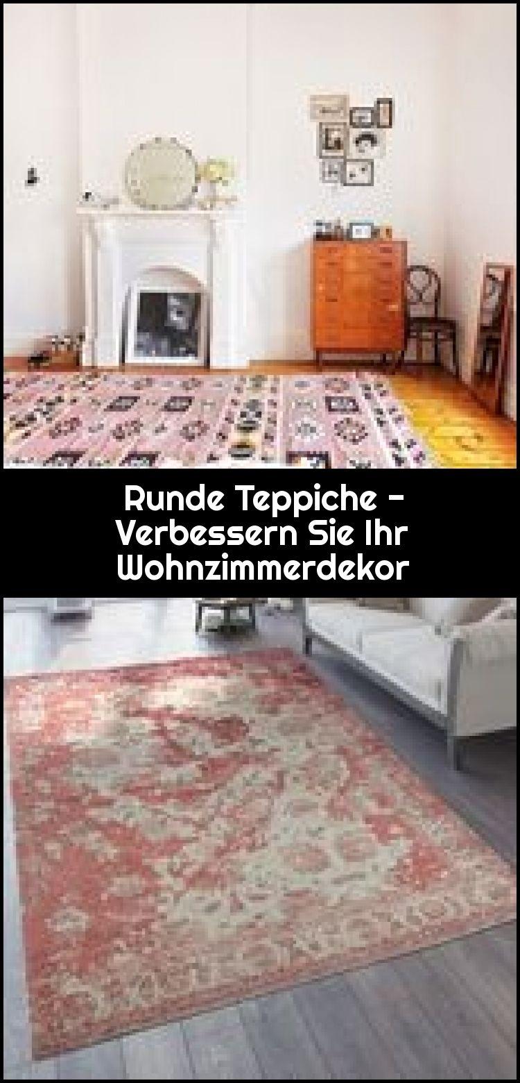Runde Teppiche – Verbessern Sie Ihr Wohnzimmerdekor,  #Ihr #Runde #Sie #Teppiche #verbessern …