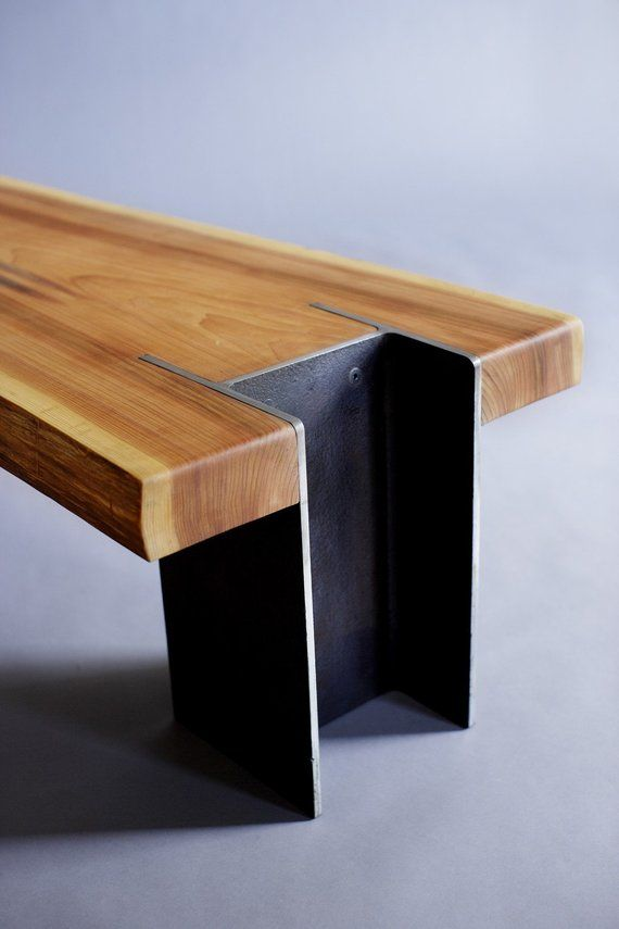 Rustic Bench, Reclaimed Bench, Live Edge Bench, Slab Bench, Modern Bench, 10×42 Bench, Custom Bench,Hand Made