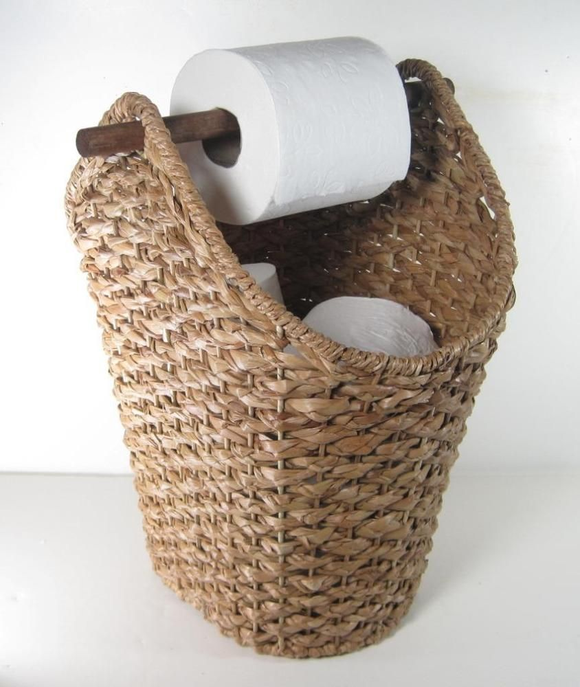 Rustic Industrial Toilet Paper Roll Holder Pipe Shelf Floating Bathroom Home     eBay