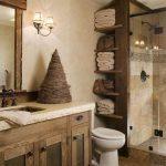Rustic Toilet Lighting Concepts RusticBathroomDecoratingIdeas #bathroom #ideas #...