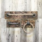 Rustic / industrial handmade bathroom set / tube / rope / unique ... -  Rustic /...