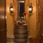 Rustikale Badezimmer-Beleuchtungs-Ideen Rustikale Badezimmer-Beleuchtungs-Ideen # ...