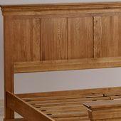 Rustikale Betten aus massiver Eiche  Kingsize-Bett  Französisches Bauernhaus  E…