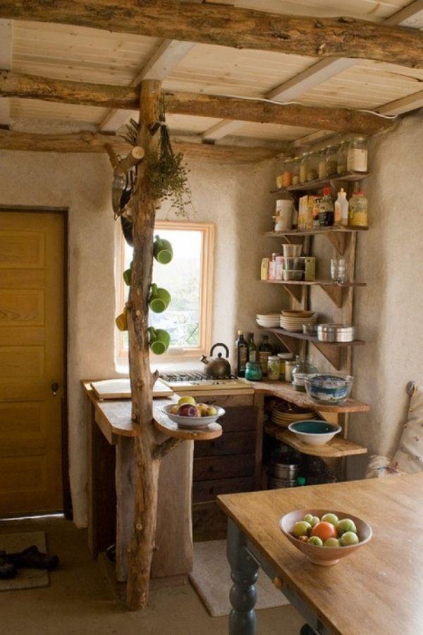 Rustikale Küche bietet ein stilvolles Ambiente – 25 Einrichtungsideen – Neueste Dekoration