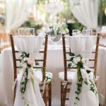 SALE 50 Chair Sashes, wedding decor, wedding, chair covers, chair sash, chiffon chair sash, wedding chair covers, chiavari chair cover, sash