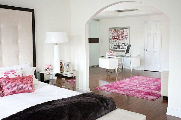 Schicke, schwarze Schlafzimmermöbel – eleganter Charme #dunklewände Schicke,…