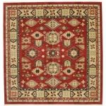 Schirwan Kazak Teppich 300x300 Orientteppich, Quadratisch RugvistaRugvista