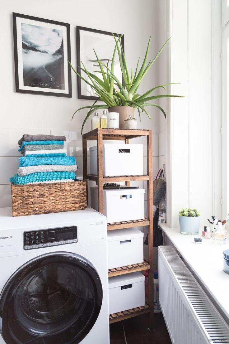 Schnelle Badezimmer-Umgestaltung – und eine neue Waschmaschine