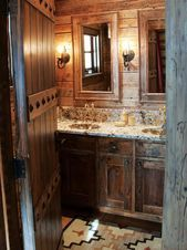 Schöne rustikale Badezimmer-Beleuchtungs-Ideen-Design-Ideen#designe #designerde…