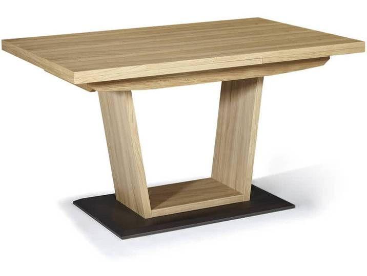 Schösswender Ontario 200 Säulentisch mit Funktion / 100×170 cm / Kernb