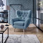 Sessel Voss: Wohnzimmer einrichten