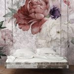 Shabby - Customized Unique Wallpaper, Removable, Washable and Reusable