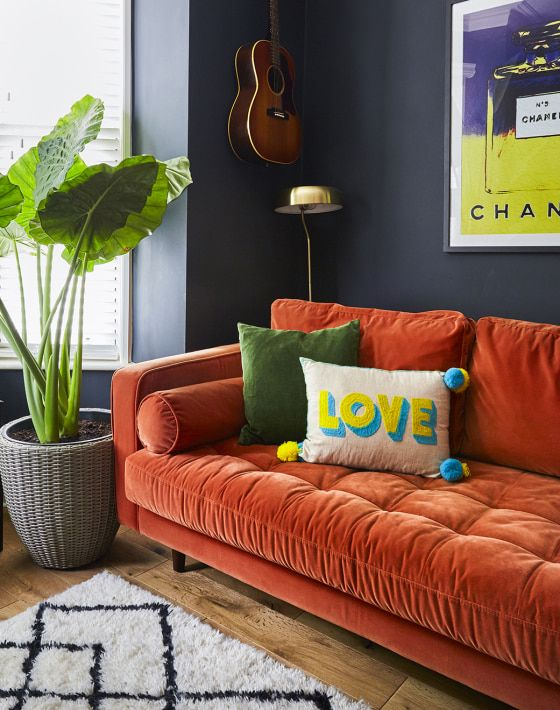 She's eclectic: step inside Megan Ellaby's colourful home