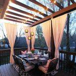 Sichtschutz für Terrasse und Balkon – draußen versteckt sitzen - Archzine.net