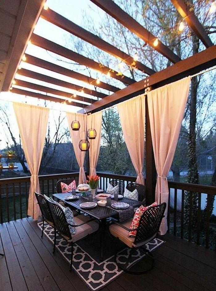 Sichtschutz für Terrasse und Balkon – draußen versteckt sitzen – Archzine.net