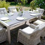 Sitzgruppe Miami #gedecktertisch Sonne, luftige Gartenmöbel, ein gedeckter Tisc...