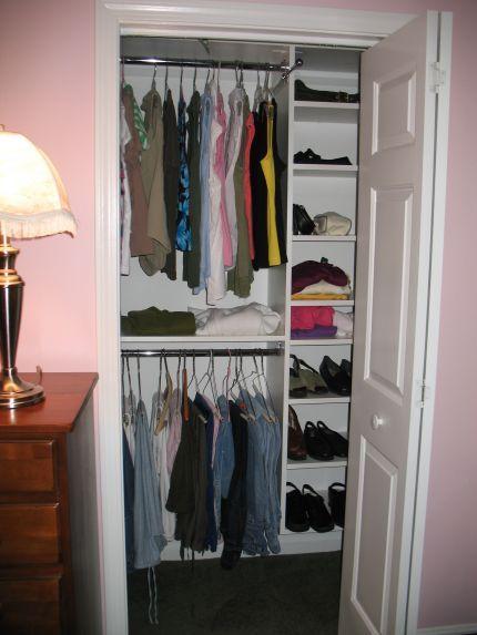 Small Bedroom Closet Organization Bedroom Amazing Small Space Closet Doors Inter…