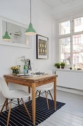 Small table and chairs,  #chairs #homedecorscandinavian #small #table