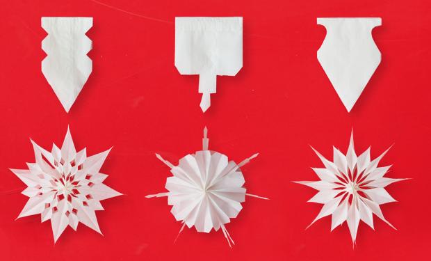 So bastelt ihr Sterne aus Butterbrottüten – Crafts