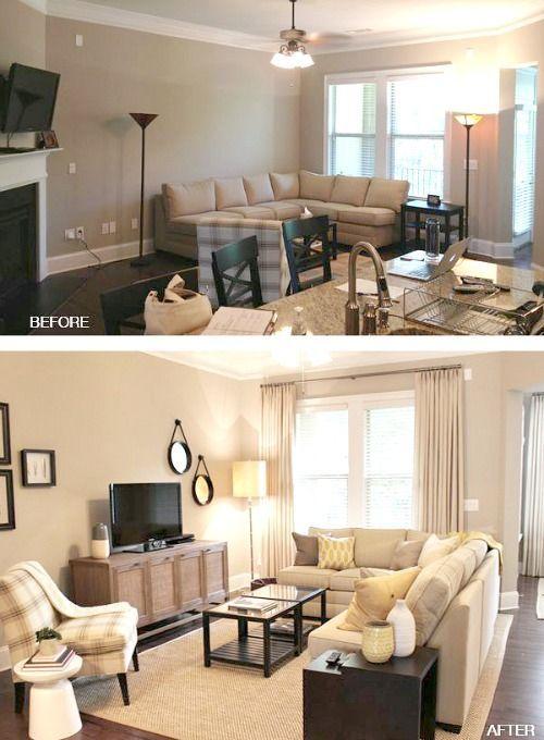 Sofa sectionnel pour petits espaces