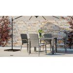 Sol 72 Outdoor 4-Sitzer Gartengarnitur Guardado mit Polster | Wayfair.de