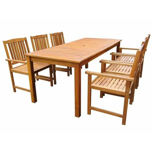 Sol 72 Outdoor 6 Seater Dining Set | Wayfair.co.uk