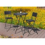 Sol 72 Outdoor Alixandra 3 Piece Bistro Set | Wayfair.co.uk