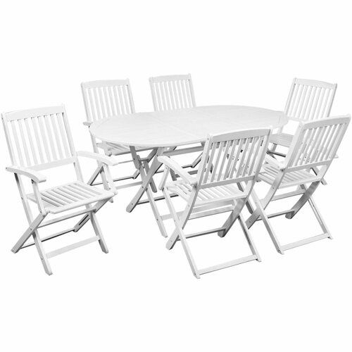 Sol 72 Outdoor Basinger 6 Seater Dining Set | Wayfair.co.uk