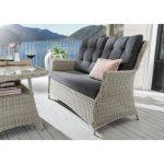 Sol 72 Outdoor Nokomis Garden Sofa with Cushions   Wayfair.co.uk