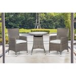 Sol 72 Outdoor Weist 2 Seater Bistro Set with Cushions | Wayfair.co.uk