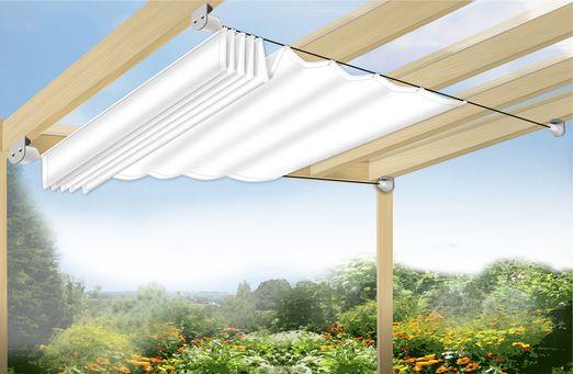 Sonnensegel in Seilspanntechnik –                                               …
