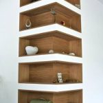 Space-Saving Corner Shelf Design Ideas www.futuristarchi... - Home Decor Art