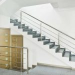 Stair rail and trendy handrail for indoor use   #handrail #indoor #stair #trendy