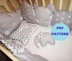 Stoßstange Kinderbett schlafen Babybett Nest Bettwäsche-Set, Kinderbett Auto, ...