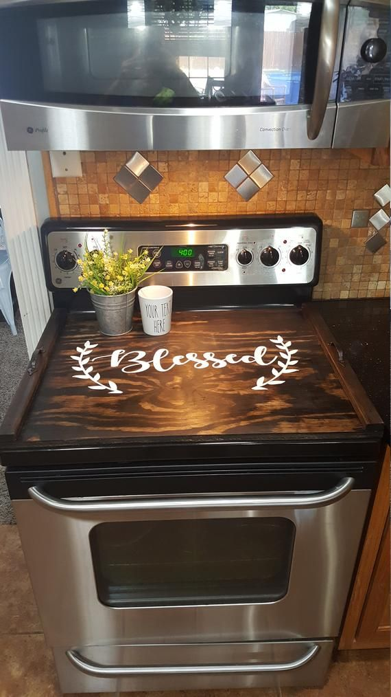 Stove Top Cover, Custom Wooden Stove Cover Personalized, Wooden Tray For Stove Top